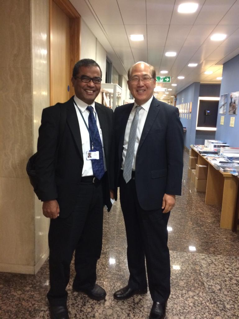 Director General for Sea Transportation with IMO Secretary General