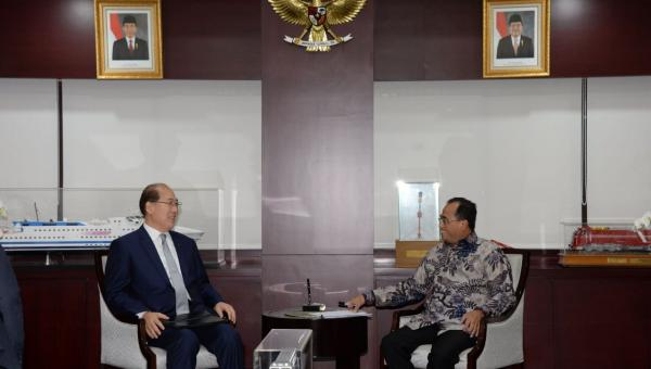 Minister of Transportation and IMO Secretary General Agree to Increase Cooperation in Shipping